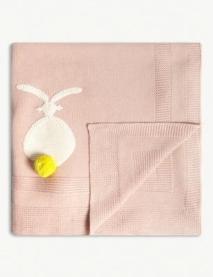 STELLA MCCARTNEY Bunny organic cotton blanket