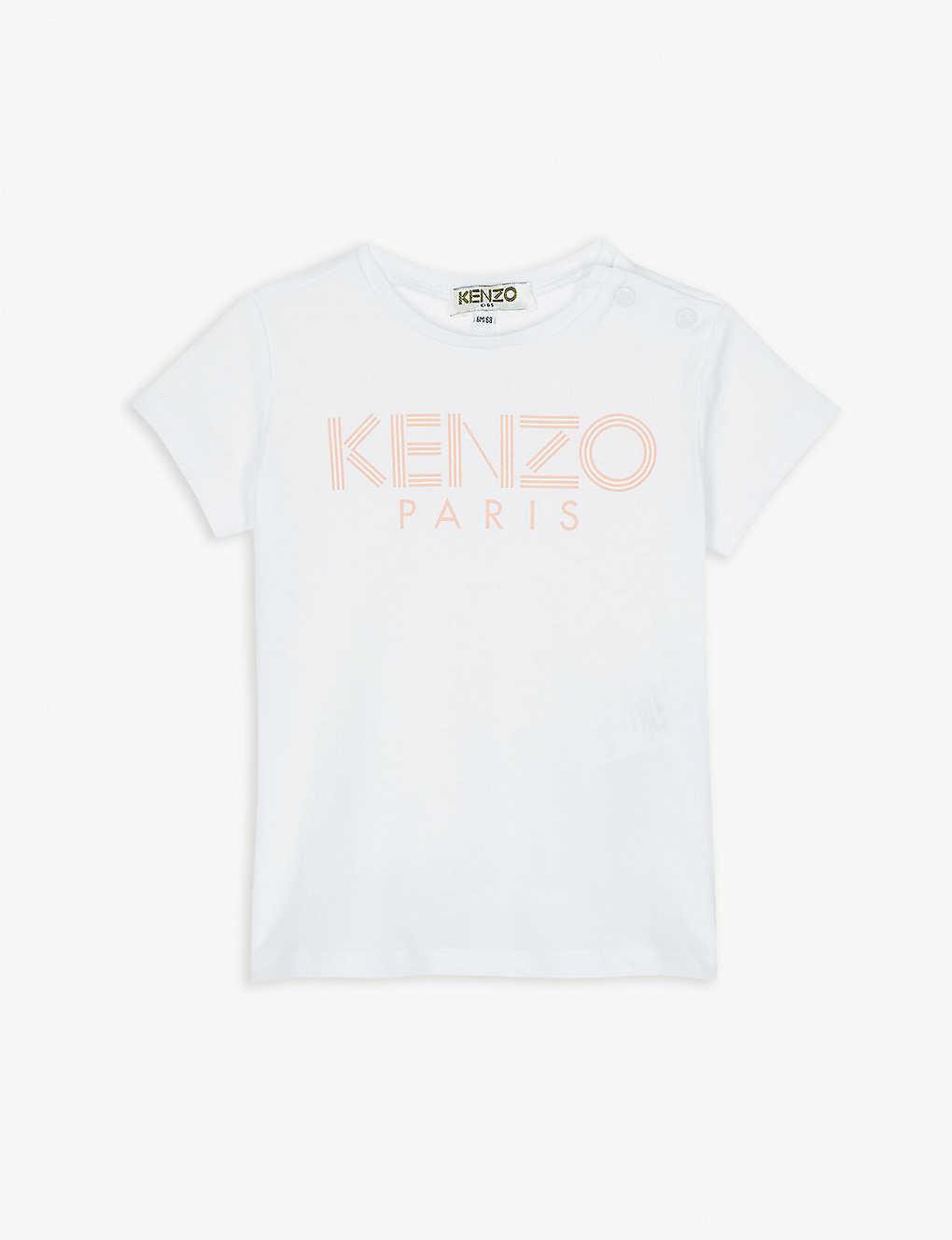 a6c48eeac KENZO - Logo cotton T-shirt 6-36 months   Selfridges.comm