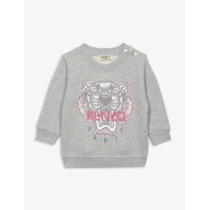 856514960 KENZO   Logo Cotton Jumper 6-18 Months   Goxip