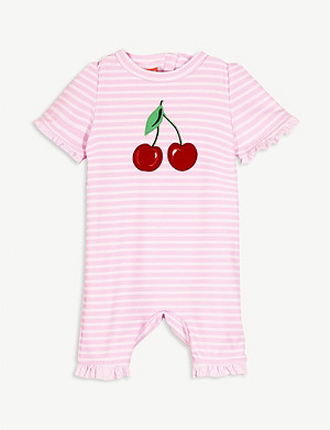 SUNUVA Cherry print sunsuit 3-24 months