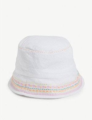 SUNUVA Embroidered cotton hat