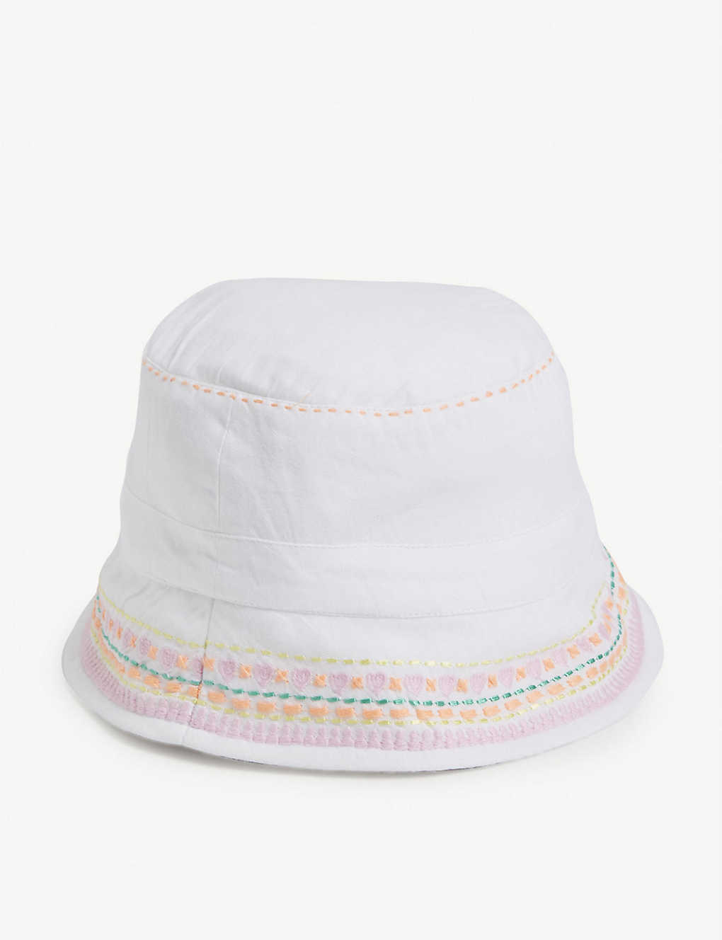 SUNUVA: Embroidered cotton hat