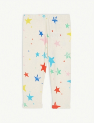 NOE & ZOE Star print cotton leggings 0-18 months
