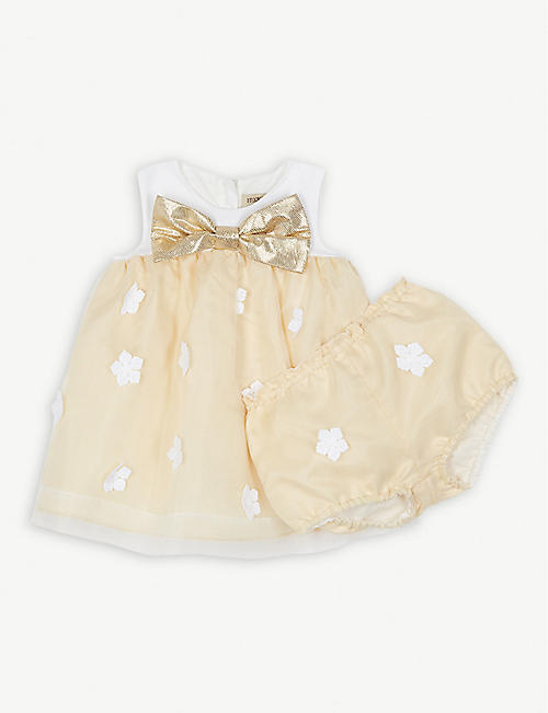 HUCKLEBONES Trapeze dress and bloomers 3-18 months
