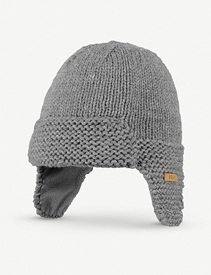 BARTS AL Yuma knitted trapper hat