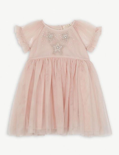 TUTU DU MONDE Star sequin tulle dress 3-24 months