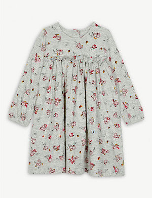 PETIT BATEAU Floral cotton dress 6-36 months