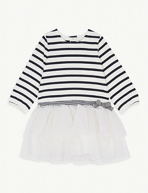 PETIT BATEAU Striped cotton tutu dress 6-36 months