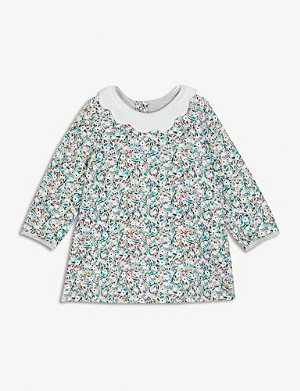 PETIT BATEAU Floral print cotton dress 6-36 months