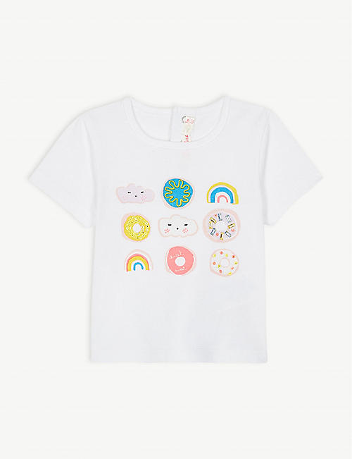 d645e47992a BILLIE BLUSH Doughnut and cloud cotton T-shirt 3-36 months