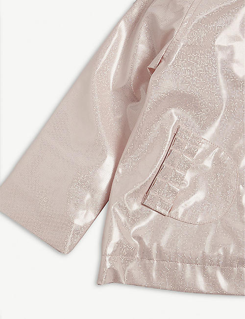 BILLIE BLUSH Glittery raincoat 6-36 months