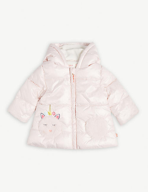 BILLIE BLUSH Unicorn coat 6-36 months
