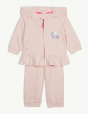 BILLIE BLUSH Sequin tracksuit 6-36 months