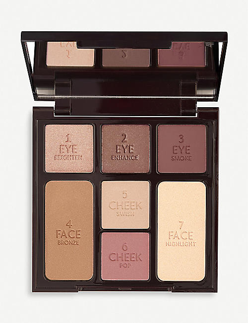 CHARLOTTE TILBURY Instant Look Gorgeous Glowing palette