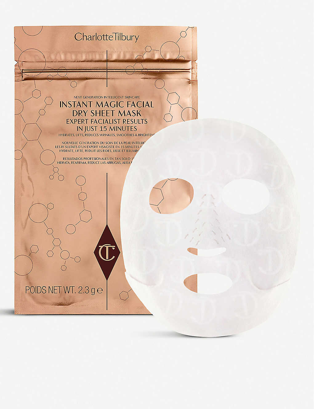 Instant Magic Facial Dry Sheet Mask Pack of 4