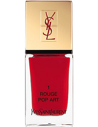 YVES SAINT LAURENT: La Laque Couture lasting nail polish