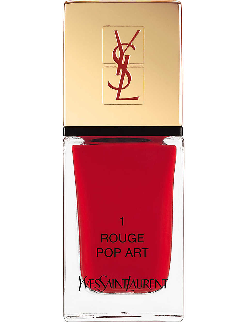 YVES SAINT LAURENT:La Laque 时装持久指甲油