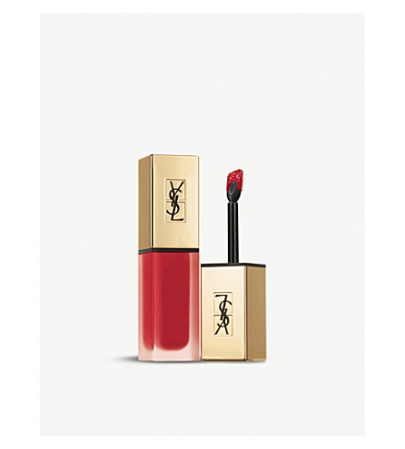 YVES SAINT LAURENT - Tatouage Couture Matte Stain liquid lipstick | Selfridges.com