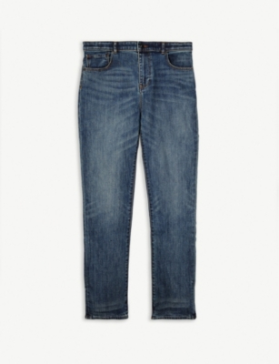 BURBERRY Relaxed-fit stretch jeans 8-14 years