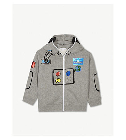 351f08e32351 BURBERRY - Astronaut Hoody (4-10 years)