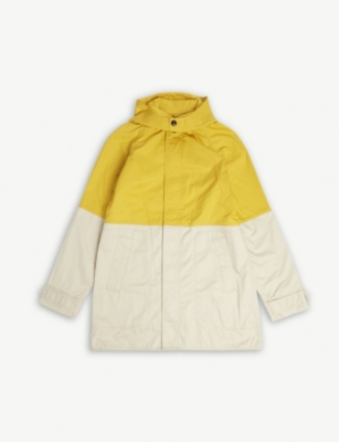 BURBERRY Two-tone rain coat 3-14 years