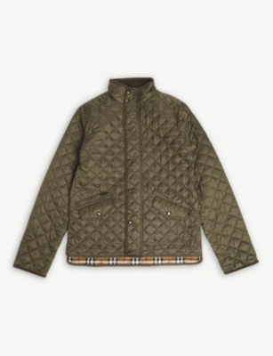 BURBERRY Quilted jacket 3-14 years