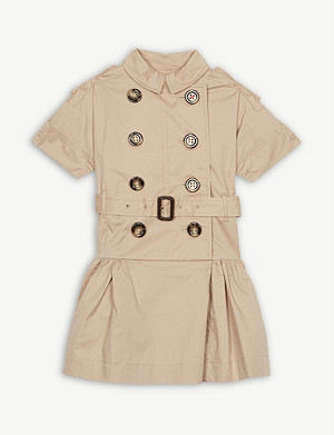 BURBERRY Cynthie trench dress 3-10 years