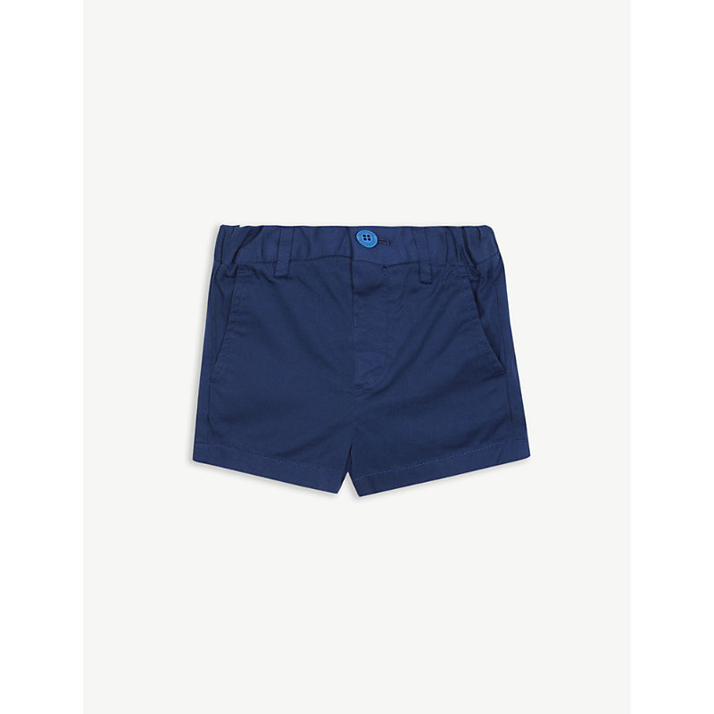 BURBERRY   Sean Cotton Chino Shorts 6 Months – 2 Years   Goxip