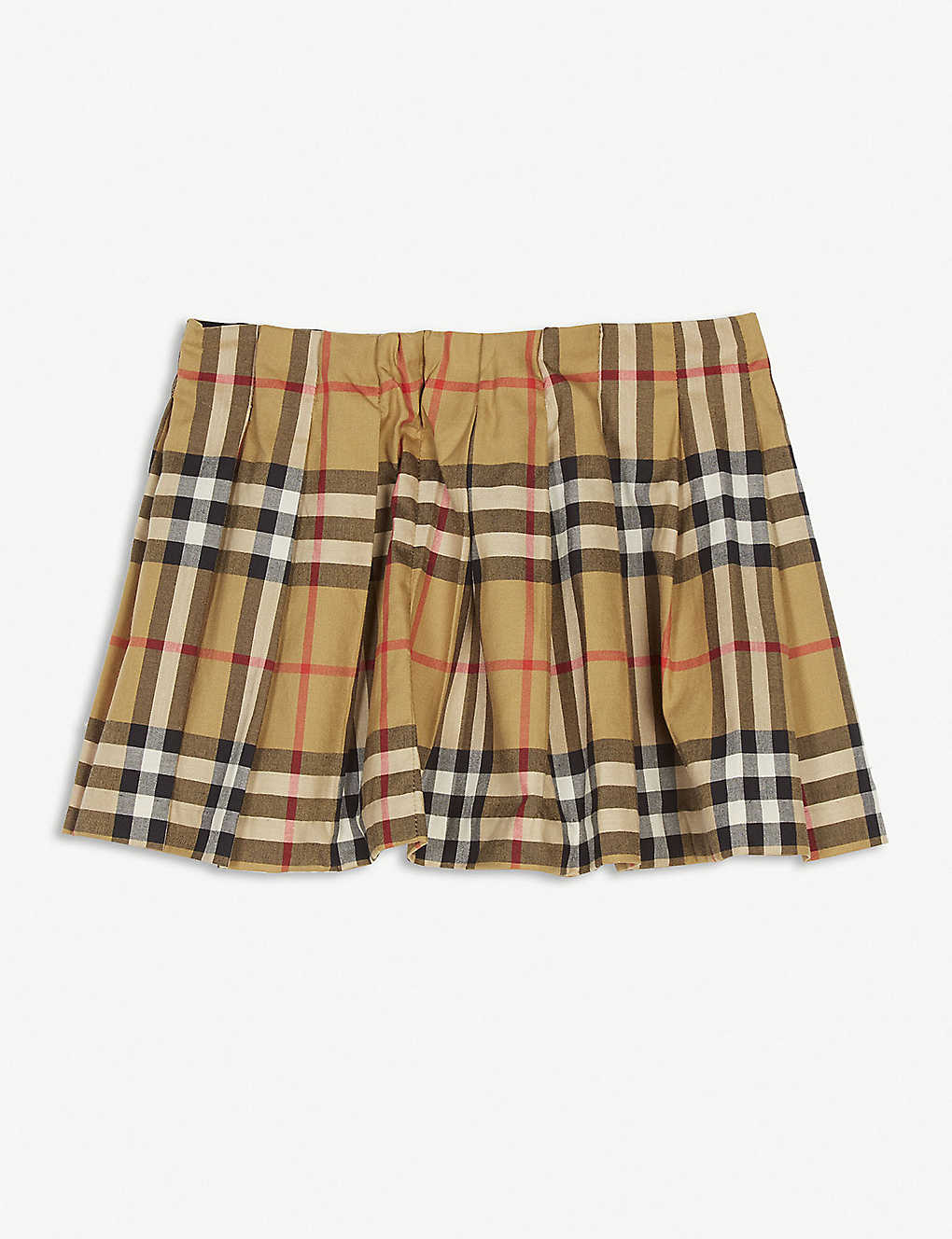 d583698184 BURBERRY - Check pleated skirt 6-24 months | Selfridges.com