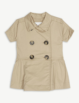 BURBERRY Trench dress 6-24 months