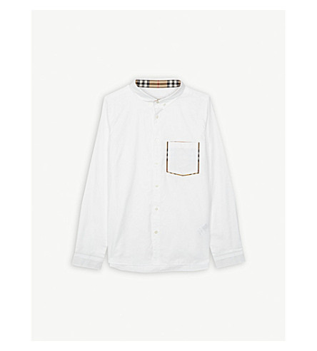 d3541375665e ... BURBERRY Cotton shirt 3-14 years (White. PreviousNext