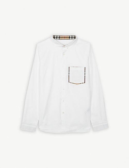 2eab8bd60c4a BURBERRY Cotton shirt 3-14 years
