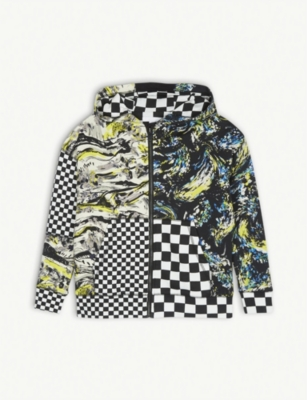 BURBERRY Graphic print cotton hoody 10-14 years