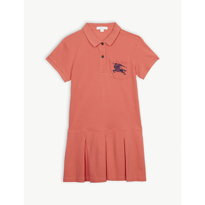 BURBERRY | Demelza Cotton Polo Dress 3-14 Years | Goxip