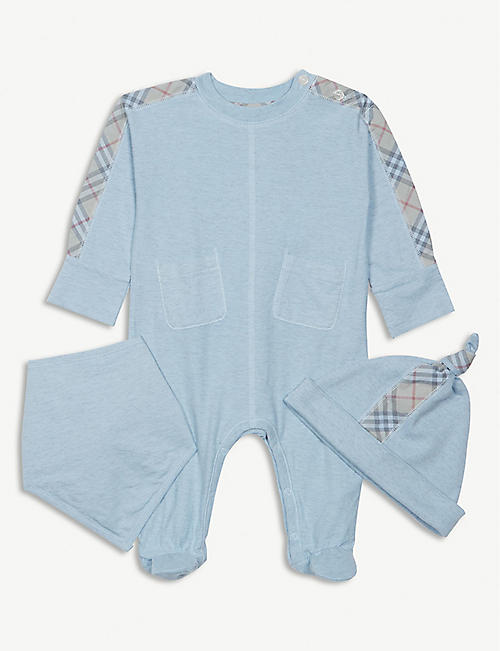 3871fbd14e9 BURBERRY Colby check bodysuit