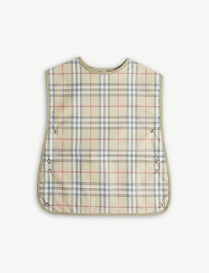 BURBERRY Check bib
