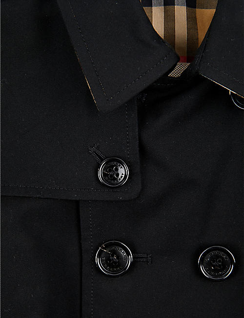 BURBERRY Mayfair cotton trench coat 2 years