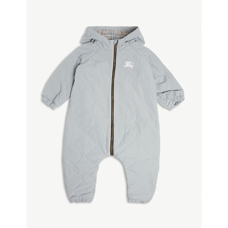 BURBERRY | Skylar Quilted All-In-One 3-18 Months | Goxip