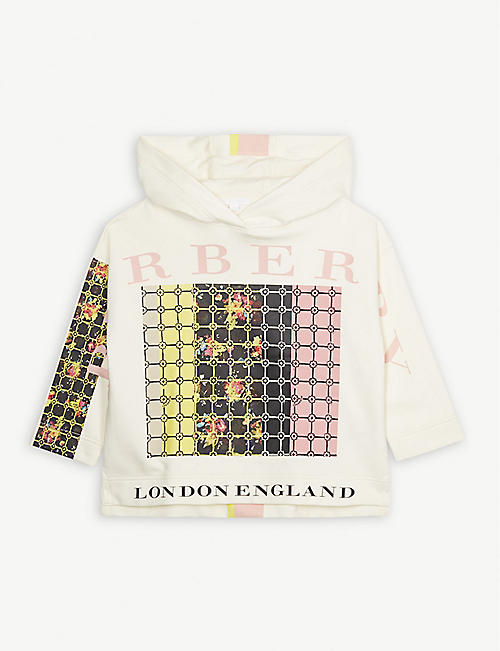 3a96f6bc90cf BURBERRY Graphic floral print hoody 10-14 years
