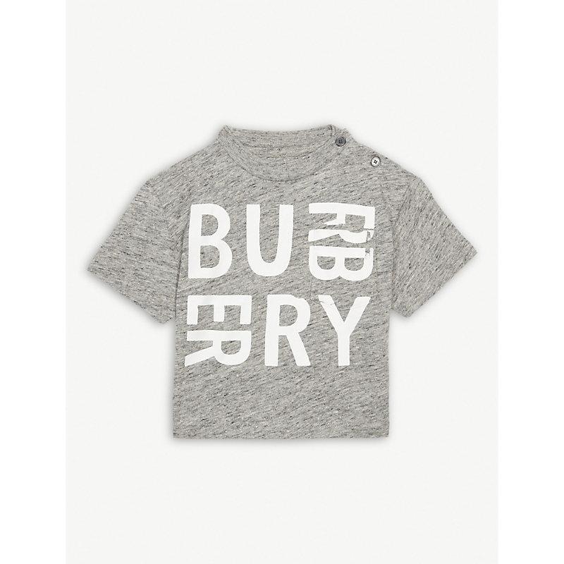 BURBERRY | Furgus Logo Print T-Shirt 6-24 Months | Goxip