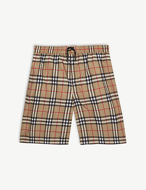 8a70227bb4ea BURBERRY Check swim shorts 3-14 years