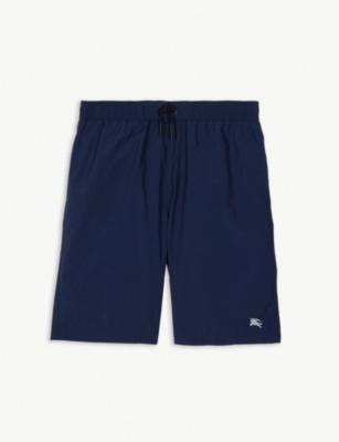BURBERRY Galvin logo-embrodiered swim shorts 3-14 years