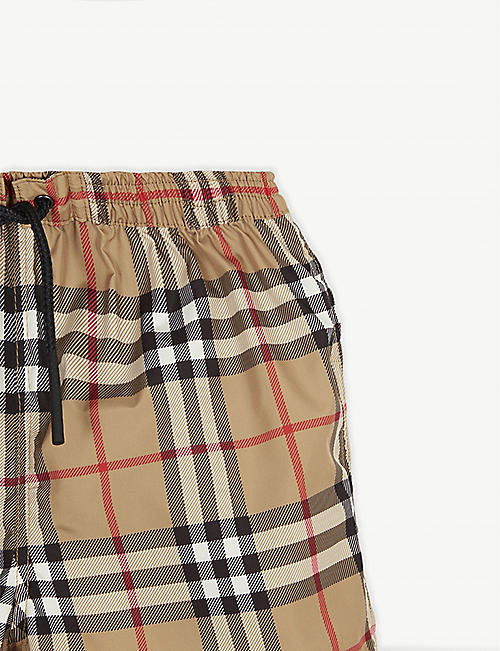 BURBERRY House Check swimshorts 6-24 months