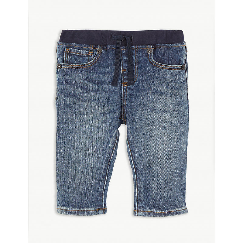 BURBERRY | Relaxed-Fit Pull-On Stretch Jeans 6-24months | Goxip