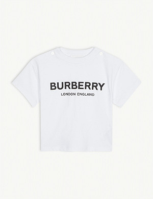 BURBERRY Robbie cotton T-shirt 6-24 months
