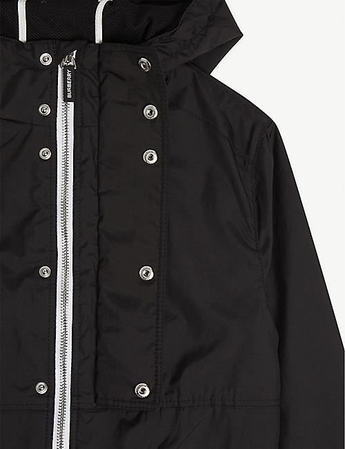 BURBERRY Austin logo nylon-blend jacket 3-14 years