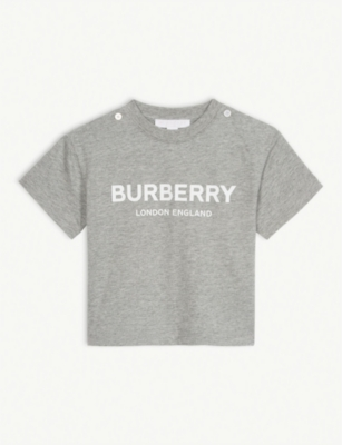 BURBERRY Branded cotton T-shirt 6-24 months