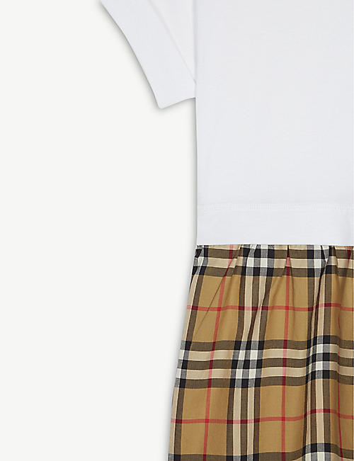 BURBERRY Vintage check cotton dress 3-14 years