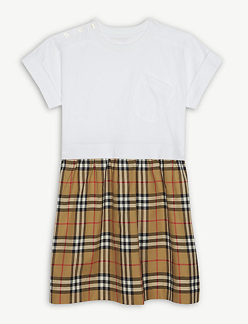 BURBERRY Vintage check cotton dress 3-14 years 1030752bea6