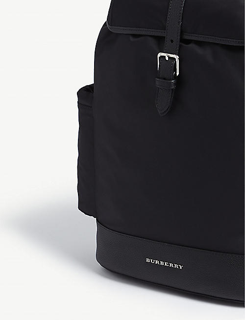 BURBERRY Watson nylon changing backpack